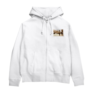 イギリス:近衛歩兵連隊★白地の製品だけご利用ください!! England: Grenadier Guards★Recommend for white base products only !! Zip Hoodies