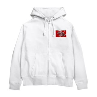 走れ。 Zip Hoodies