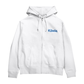 Kibelaロゴ Zip Hoodies