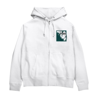 ヘドロ Zip Hoodies