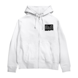 山岳 Zip Hoodies