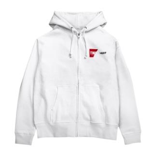 twinvest label Zip Hoodies