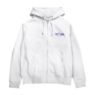 leTas グッズ Zip Hoodies