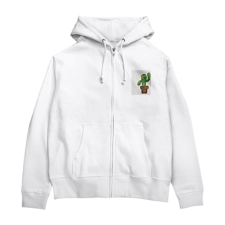 サボ男 Zip Hoodies