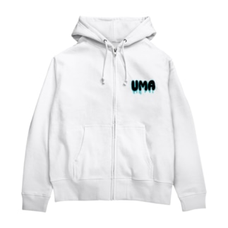 ネス湖 Zip Hoodies