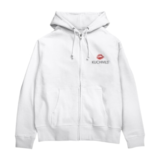 KUCHIVILS WHITE Zip Hoodies