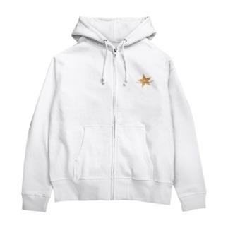 星と星屑 Zip Hoodies