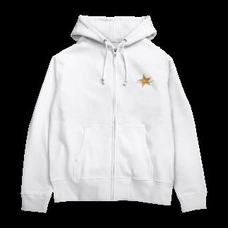 QWNの星と星屑 Zip Hoodies