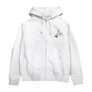 Clean up  Zip Hoodies