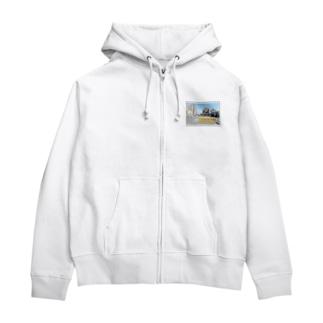 東京都:大関横丁交差点★白地の製品だけご利用ください!! Tokyo: Ozekiyokocho Crossroad/ Taito-ku★Recommend for white base products only !! Zip Hoodies
