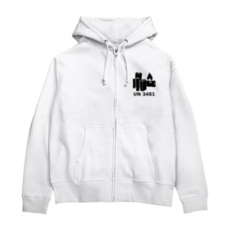 UN3481 Zip Hoodies