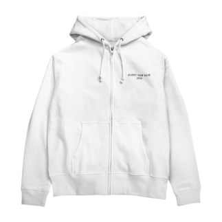 HAPPY NEW YEAR 2020 Zip Hoodies