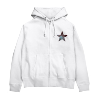 Aqua star Zip Hoodies