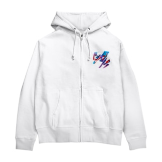 iNvisibleColors_Graffiti Zip Hoodies