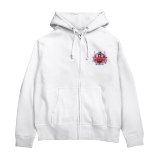 母の愛 Zip Hoodies