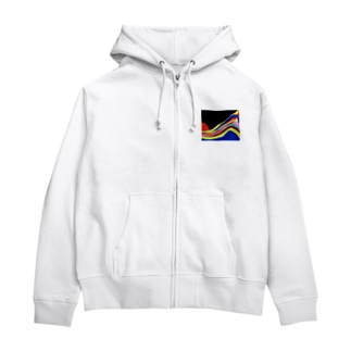 大波小波 Zip Hoodies