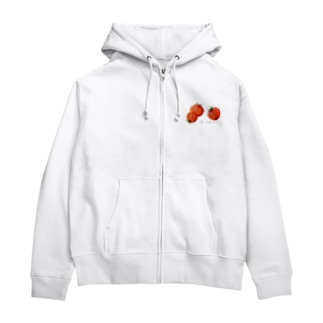TOMATO🍅 Zip Hoodies