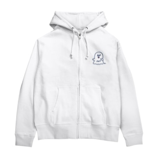 ヌばけ Zip Hoodies