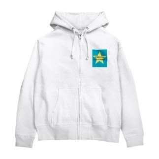 SPARKLING-CLOTHESパーカー Zip Hoodies