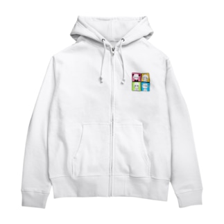 friend Zip Hoodies