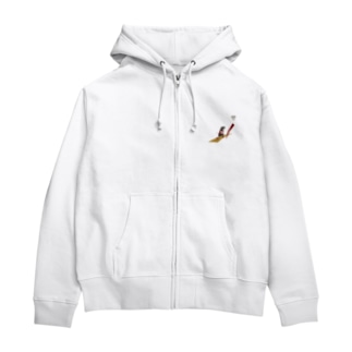 ゴールへ Zip Hoodies