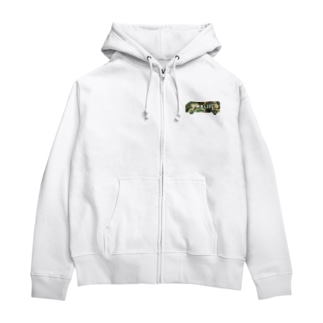 vanlife plusのvanlife plus_logomark03 Zip Hoodies