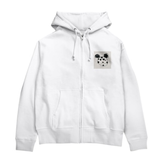 うちゅうみかんの飯塚くんのパンダ Zip Hoodies