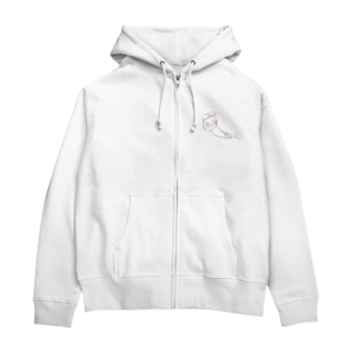 クマ Zip Hoodies