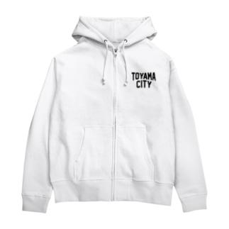 toyama city 富山ファッション アイテム Zip Hoodies