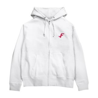 F_Symbol Zip Hoodie