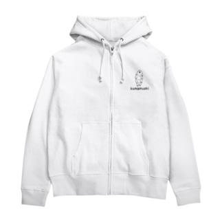 kumamushi(クマムシ) Zip Hoodies