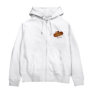 HOT DOG Zip Hoodies