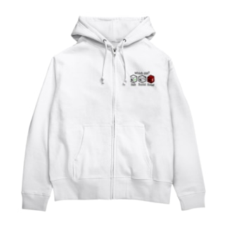 SCP鍵の掛かった箱テスト(文字化けあり) Zip Hoodies