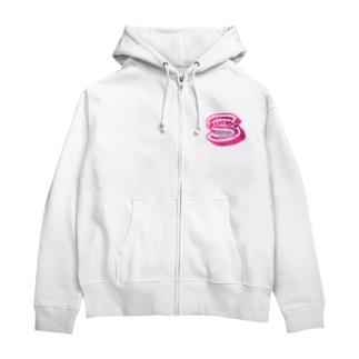 Pinky Girls Zip Hoodie