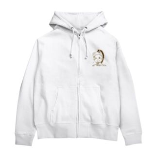 ウマ吉 Zip Hoodies