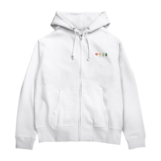 Comfy Friends こども英会話グッズ Zip Hoodies