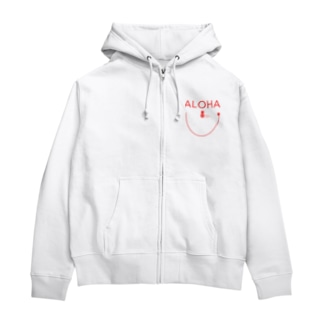 ALOHA Smile 165 Zip Hoodies