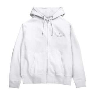 両腕 Zip Hoodies