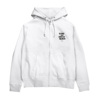 チャリティー【SURF】 Zip Hoodies