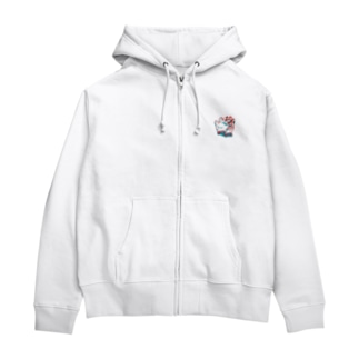 軍手 Zip Hoodies