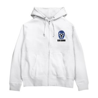 BLUE DEMON / ブルーデモン Zip Hoodies