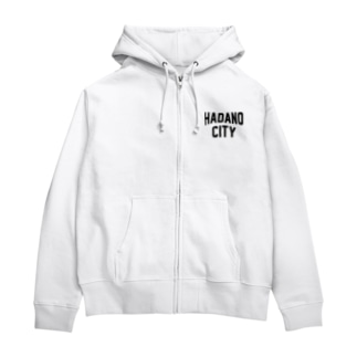 JIMOTO Wear Local Japanの秦野市 HADANO CITY Zip Hoodies