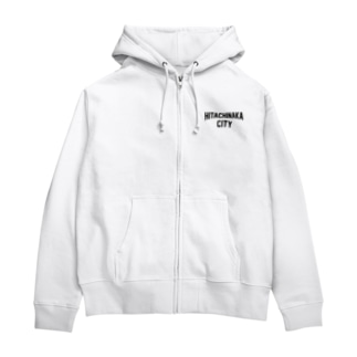ひたちなか市 HITACHINAKA CITY Zip Hoodies