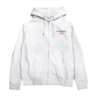 JIMOTO Wear Local Japanのひたちなか市 HITACHINAKA CITY Zip Hoodies