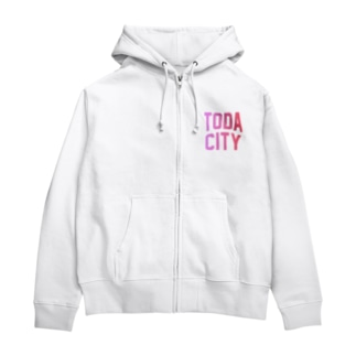 JIMOTO Wear Local Japanの戸田市 TODA CITY Zip Hoodies