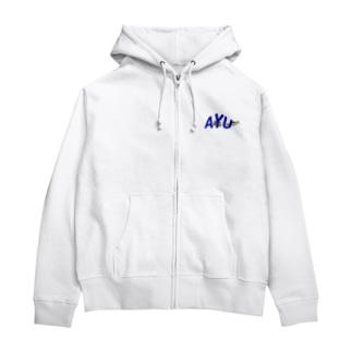 AYU!! Zip Hoodies