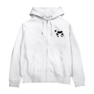 丑年2020 Zip Hoodies