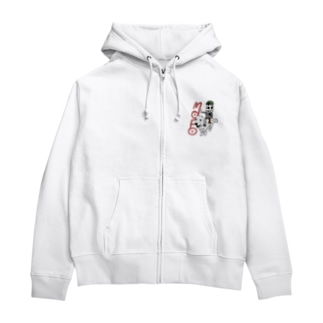 MOFO PAIR Zip Hoodies