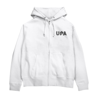 UPA botanical Zip Hoodies