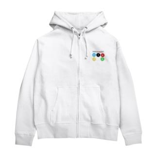真田幸村【東京オリンピック記念】 Zip Hoodies